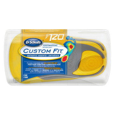 Dr. Scholl\'s Custom Fit Orthotic Inserts CF 120