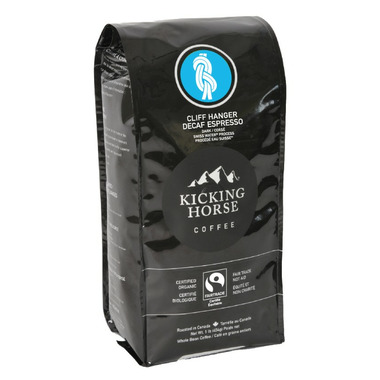 Kicking Horse Coffee Decaf Cliff Hanger Espresso Dark