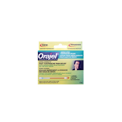 Buy Orajel Medicated Toothache Swab From Canada At Well Ca