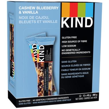 KIND Bars Cashew Blueberry & Vanilla