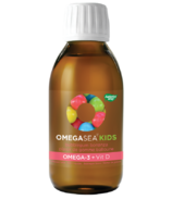 Nature's Way OmegaSea Omega-3 + Vitamin D Kids Bubblegum Bonanza