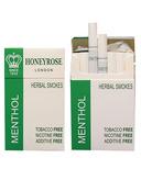 Honeyrose Menthol Herbal Cigarettes