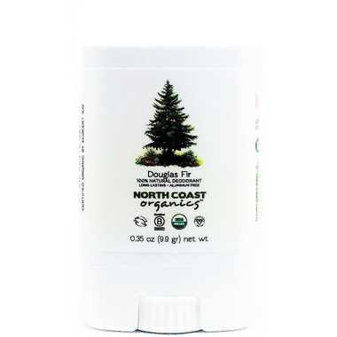 North Coast Organics Douglas Fir Organic Deodorant Travel Size