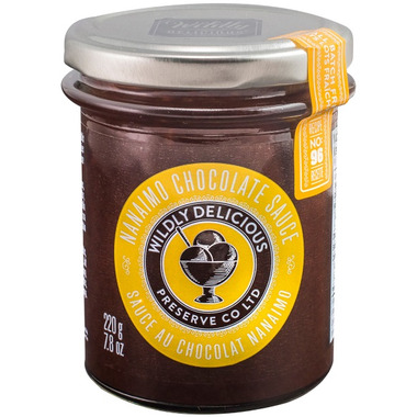 Wildly Delcious Nanaimo Chocolate Sauce