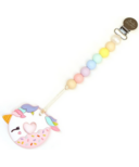 Loulou Lollipop Loulou Pink Unicorn Donut Teether