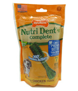Nutri Dent Complete Dental Chews Chicken Medium Size 7 Pack