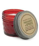 Paddywax Relish Jar Red Pomegranate & Spruce Candle