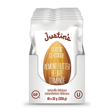 Justin\'s Classic Almond Butter Squeeze Packs