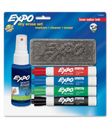 Expo Low Odor Chisel Point Dry-Erase Markers Starter Set