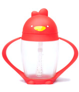 Lollacup Straw Sippy Cup Bold Red