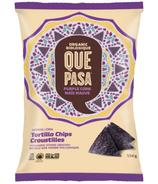 Que Pasa Purple Corn Organic Tortilla Chips