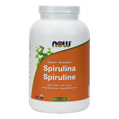NOW Foods Organic Spirulina Powder