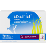 Asana Nighttime Super Sanitary Napkin