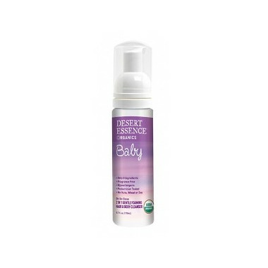 Desert Essence Baby Foaming Hair and Body Cleanser