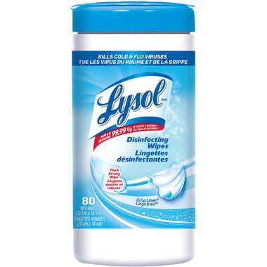 Lysol Disinfecting Wipes Crisp Linen