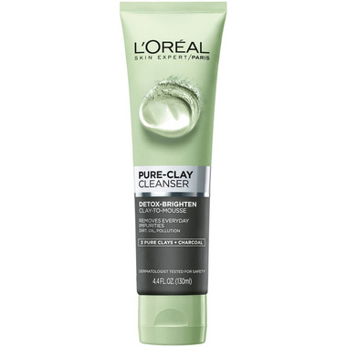 L\'Oreal Energizing & Brightening Pure Clay Cleanser