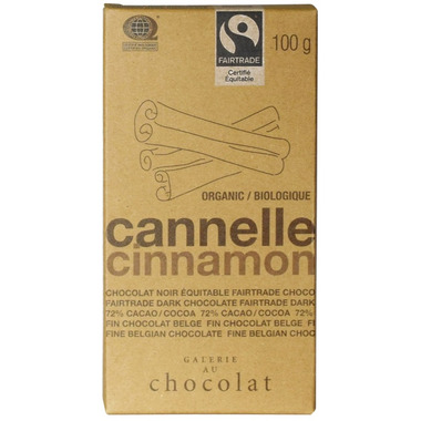 Galerie au Chocolat Cinnamon Chocolate Bar