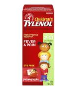 Children's Tylenol Fever & Pain Suspension Liquid