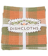 Now Designs Dishcloth Set Harvest Check