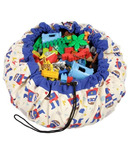 Play & Go Super Hero Toy Storage Bag & Playmat