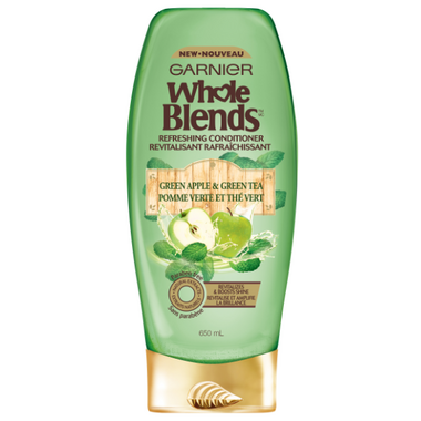 Garnier Whole Blends Green Apple Green Tea Refreshing Conditioner