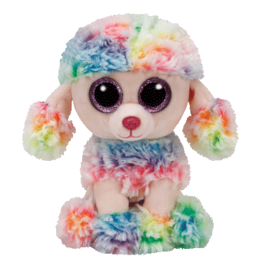 Ty Rainbow The Poodle