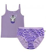 Zoocchini Organic Girls Zebra Camisole & Underwear Set