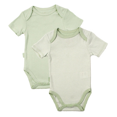 Kushies Layette Short Sleeve Bodysuit Rib