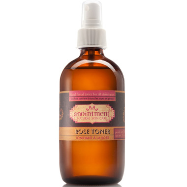 Anointment Natural Skin Care Rose Toner