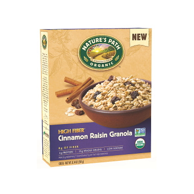 Nature\'s Path Organic Cinnamon Raisin Granola
