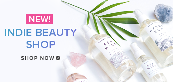 New! Indie Beauty Shop