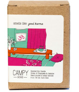 Campy Smells Like: Good Karma Soy Candle