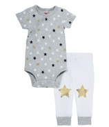 Skip Hop Star Struck Short Sleeve Bodysuit & Pant Set Stars