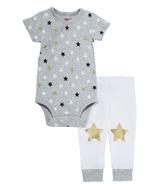 Skip Hop Star Struck Short Sleeve Bodysuit & Pant Set Stars
