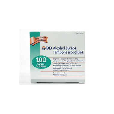 BD Single Use Alcohol Swabs