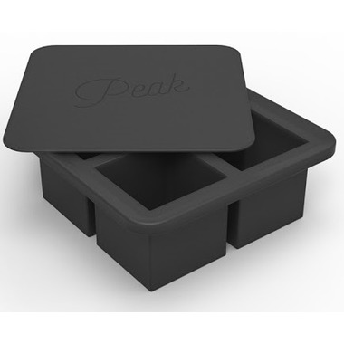 W&P Design King Cube Tray Charcoal