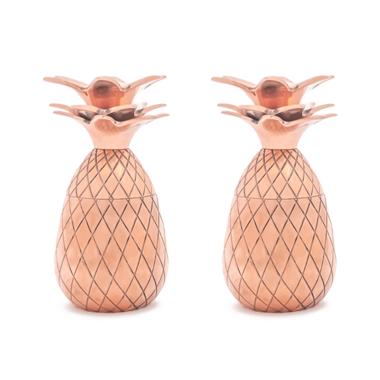 W&P Pineapple Shot Glass Set Copper