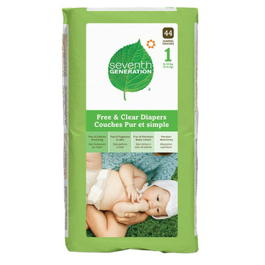 Seventh Generation Baby Chlorine-Free Diapers