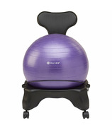 Gaiam Classic Balance Ball Chair Purple Ball