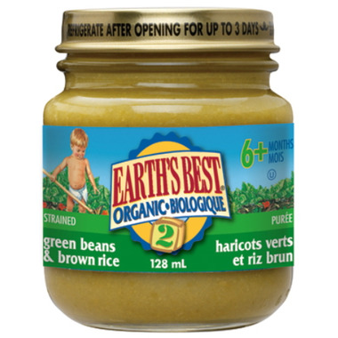 Earth\'s Best Organic Baby Food