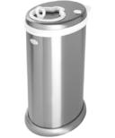 Ubbi Stainless Steel Diaper Pail Chrome