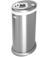 Ubbi Stainless Steel Diaper Pail Chrome