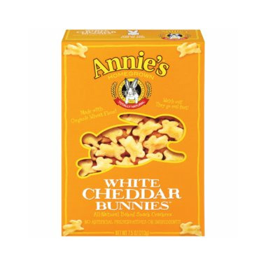 Annie\'s Homegrown Organic White Cheddar Bunnies