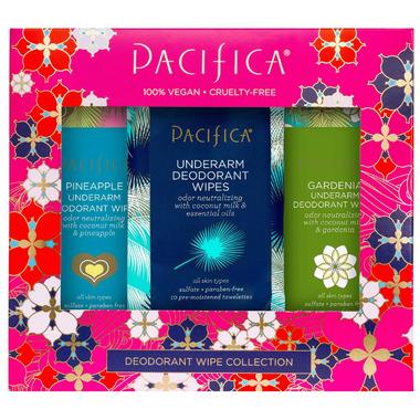 Pacifica Deodorant Wipes Trio Set