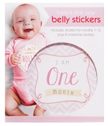 C.R. Gibson First Year Belly Stickers Girl