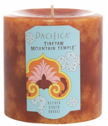 Pacifica Pillar Candle Tibetan Mountain Temple