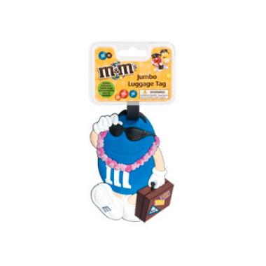 M&M\'s Jumbo Luggage Tag