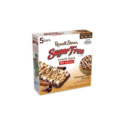 Buy russell stover sugar free snack bars 5 x 32 g online for Food bar russell