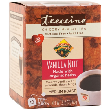 Teeccino Vanilla Nut Chicory Herbal Tea