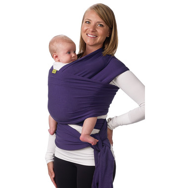 Boba Wrap Baby Carrier Purple